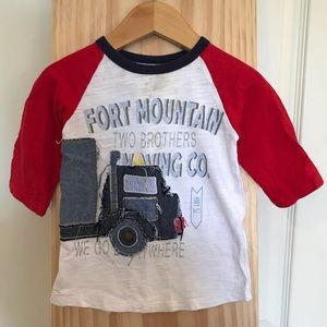 MUD PIE Toddler Boy T-Shirt 3/4 sleeve